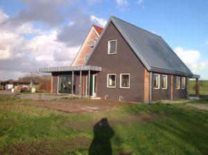 Huis met fels dak Enkhuizen
