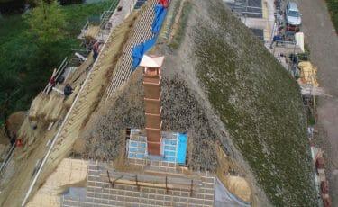 West-Friese stolpboerderij koperen schoorsteen