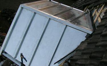 Zinken dak in Hoogkarspel
